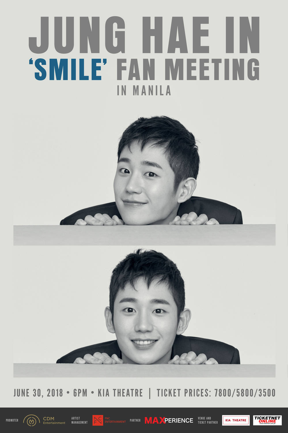 Korean actor Jung Hae-in is coming to Manila!