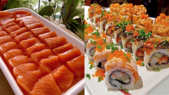 DELIVERY. Japanese restaurants around Metro Manila are offering various sushi and sashimi options for pickup and delivery. Photos from Sashimi Haven, Omakase