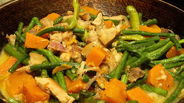 Look Cooking Pinakbet Under Sizzling Inflation