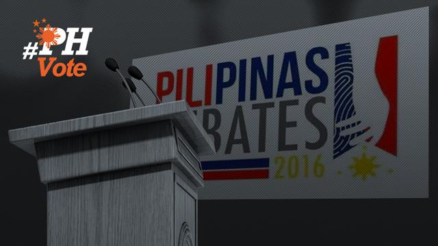 presidential debate - photo #41