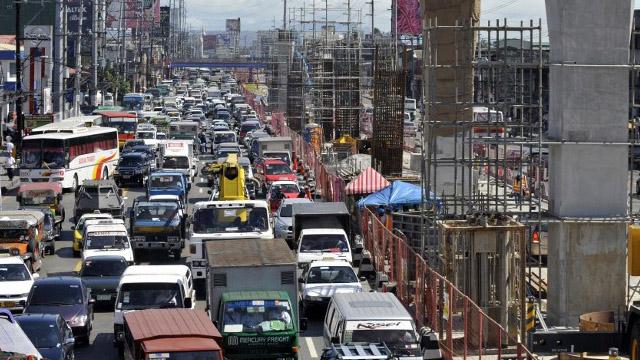 Metro Manila has 3rd worst traffic in Southeast Asia – study
