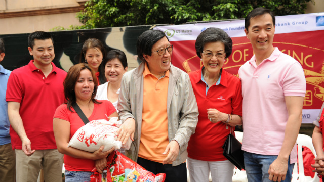 Bags of blessings: Giving back to communities