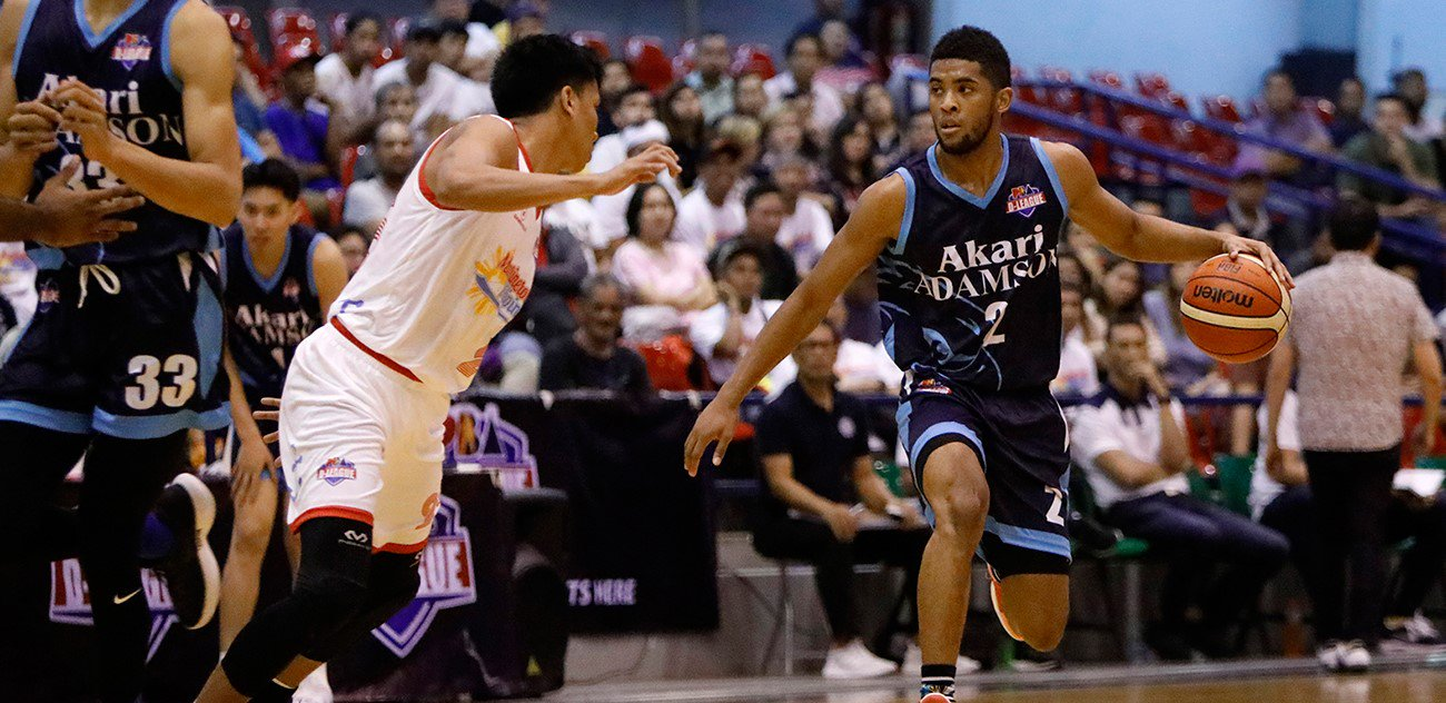 Akari Adamson Stuns Marinerong Pilipino In Pba D League Thriller