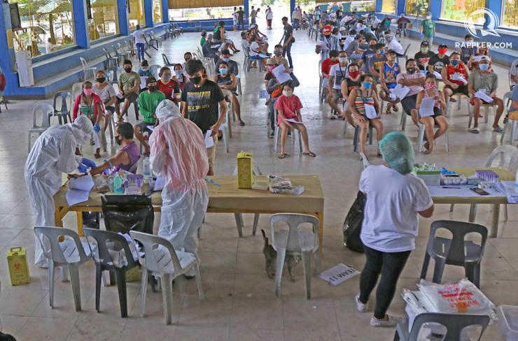 mabolo cebu city mass testing