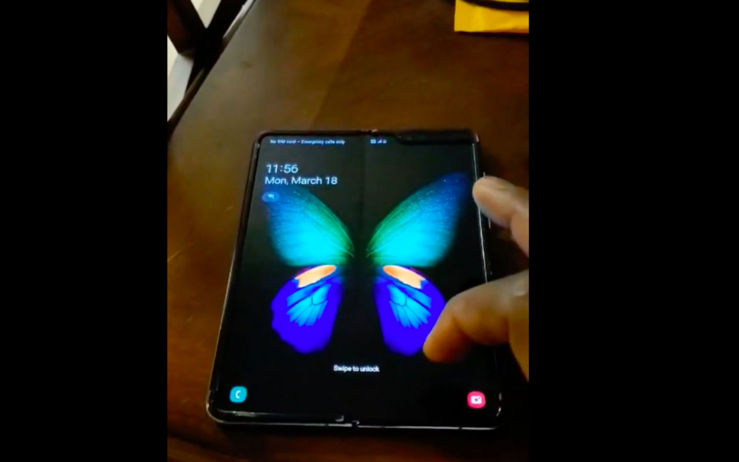 Watch Is This The First User Made Samsung Galaxy Fold Hands On Video