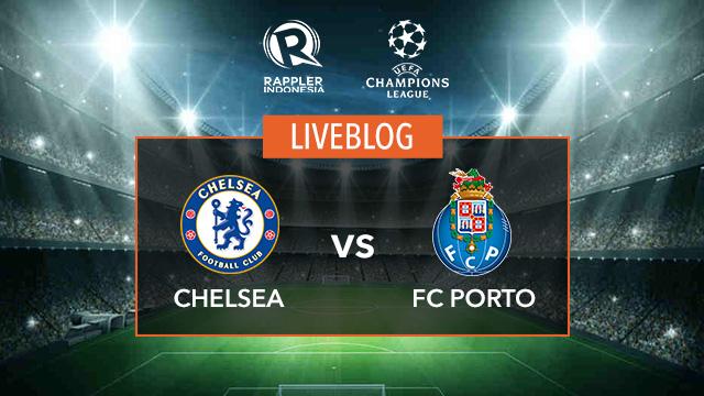 AS IT HAPPENED: Chelsea vs Porto - Liga Champions