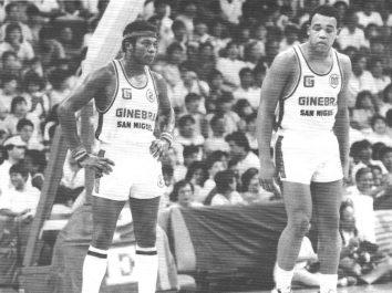 Billy Ray Bates and Michael Hacket Ginebra