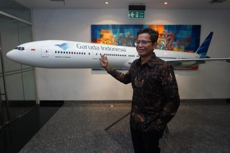 Resmi jadi Dirut Garuda Indonesia, ini gebrakan Pahala Mansury