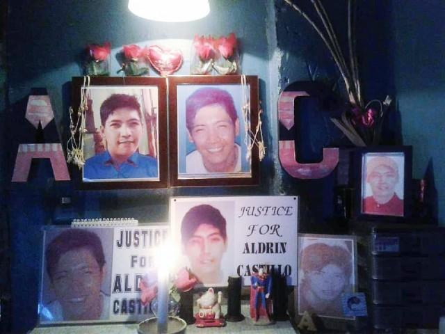 JUSTICE. Nanette Castillo remembers her son Aldrin. Photo courtesy of Castillo