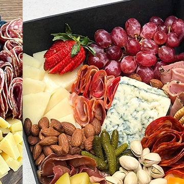 Perfect Holiday Gift! choose your size and name Your own Personalized Winery Wine and Cheese Board