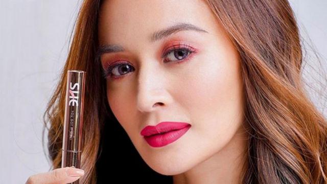 Actress Kris Bernal Launches Makeup Line
