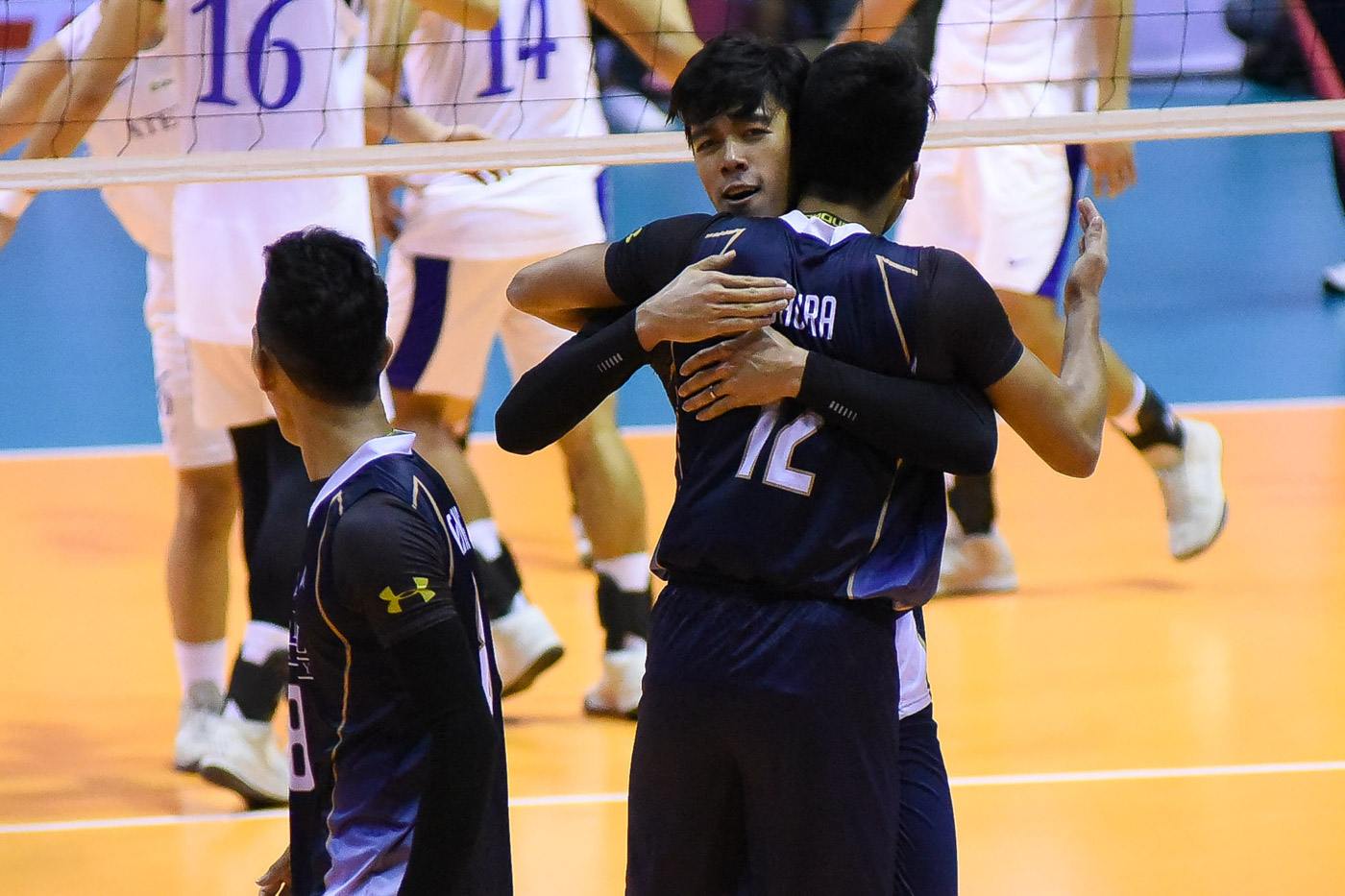 Nu Dethrones Ateneo Bags Uaap Men S Volleyball Crown