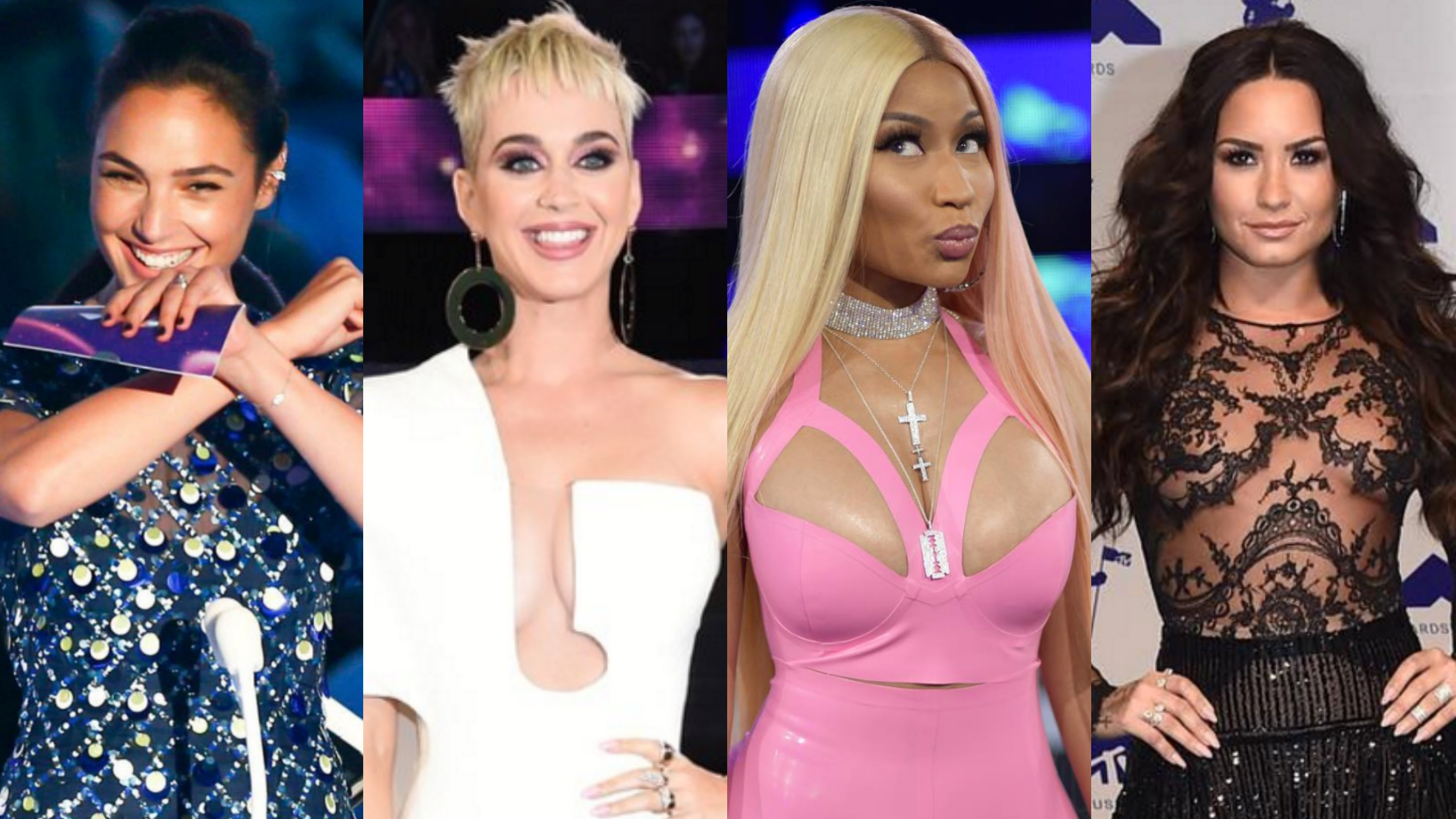 In Photos Stars At The Mtv Video Music Awards 2017