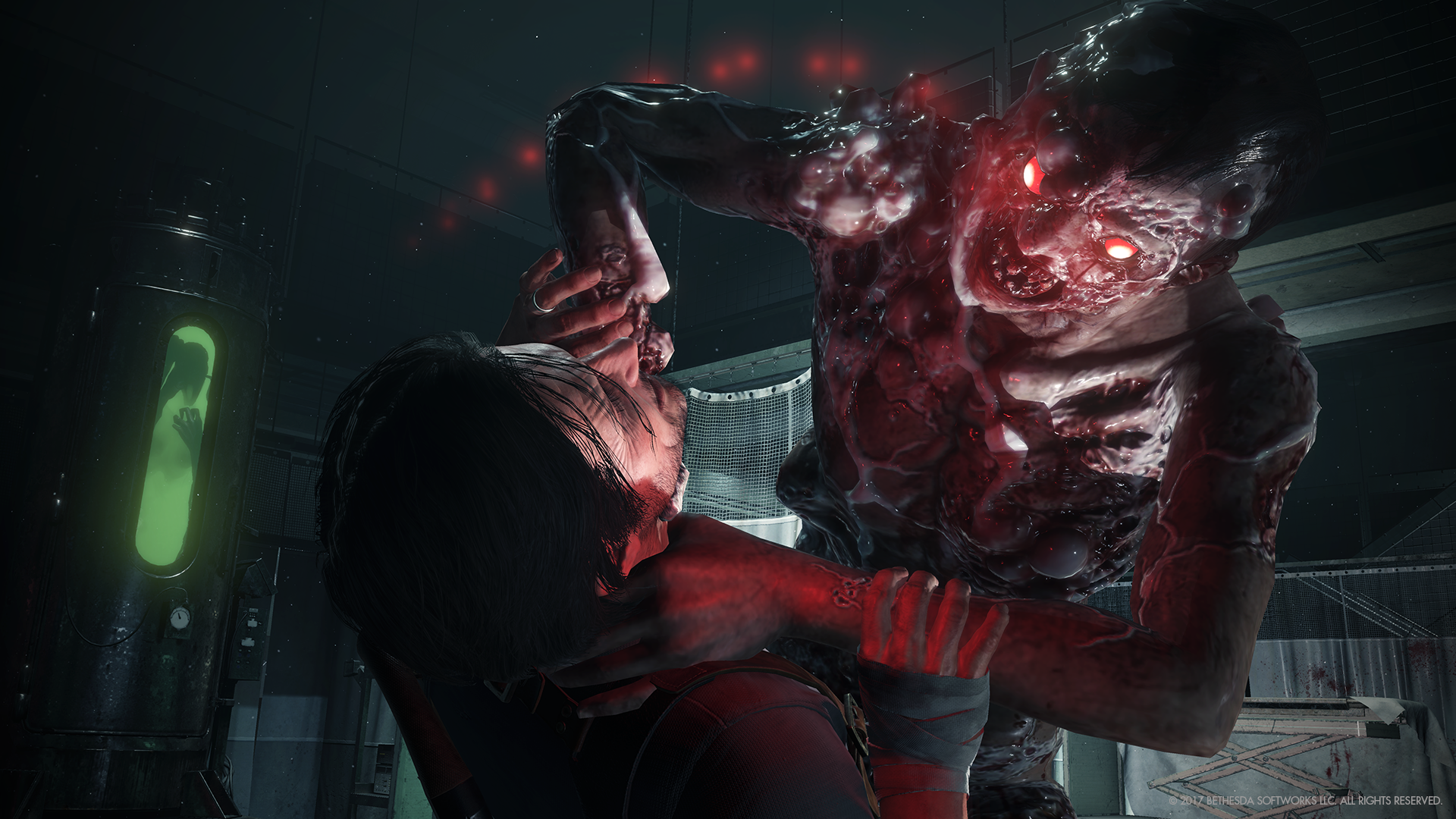 The Evil Within 2 S Supernatural Scares Will Put You In A Chokehold