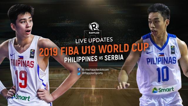 Highlights Philippines Vs Serbia Fiba U19 World Cup 2019 Round