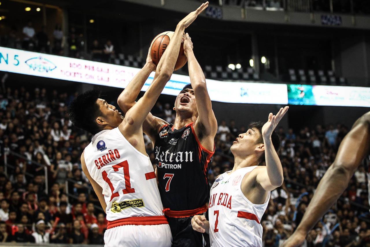 Letran ends San Beda reign, captures NCAA crown
