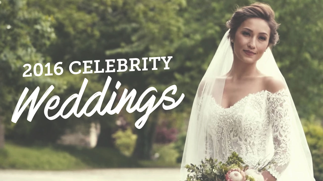 Celebrities getting married in 2016