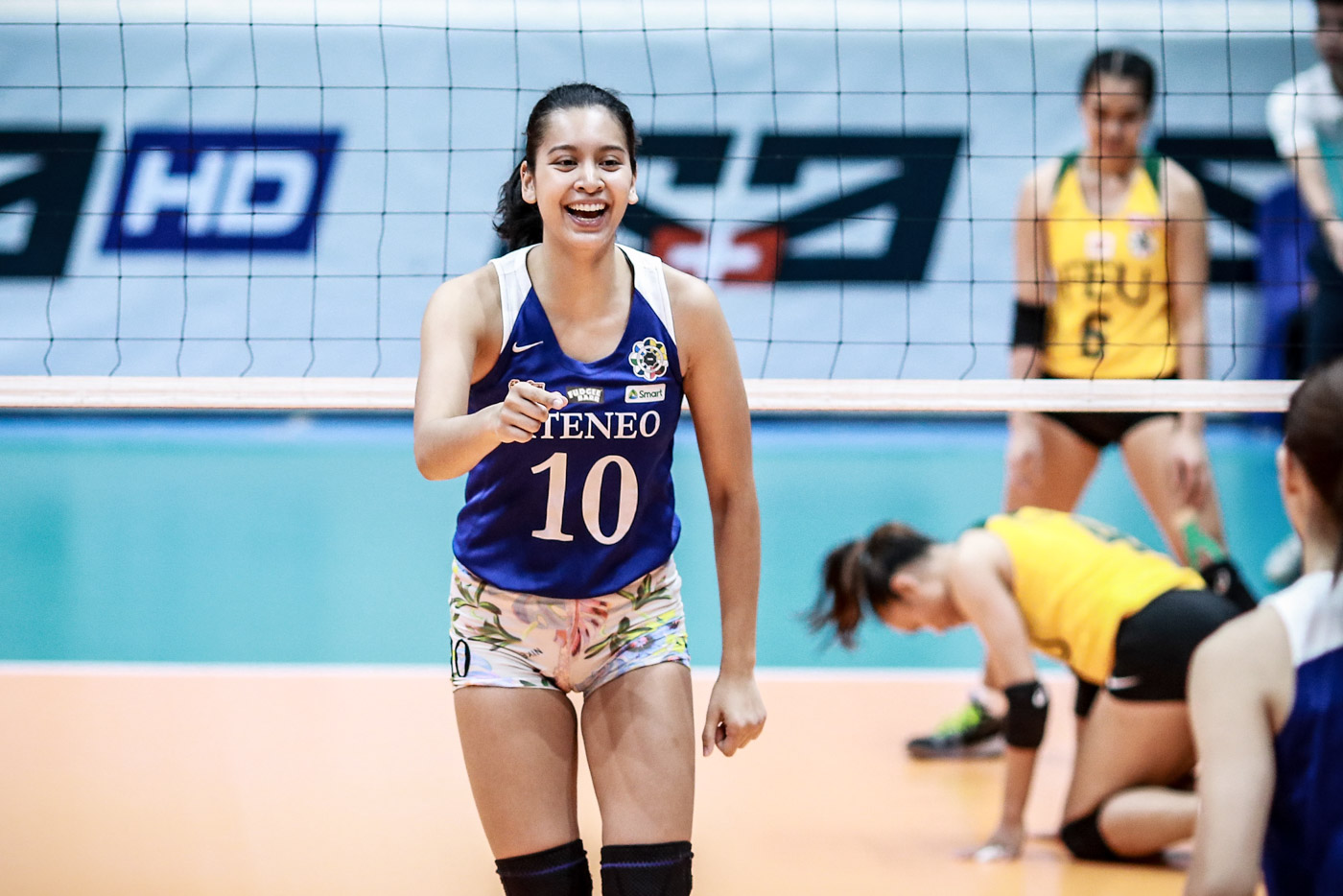 Mvp Bet Kat Tolentino Zeroes In On Uaap Title