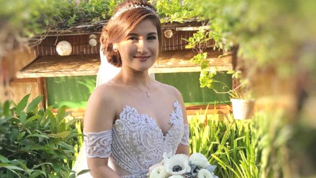 In Photos Camille Prats Stunning Wedding Gown