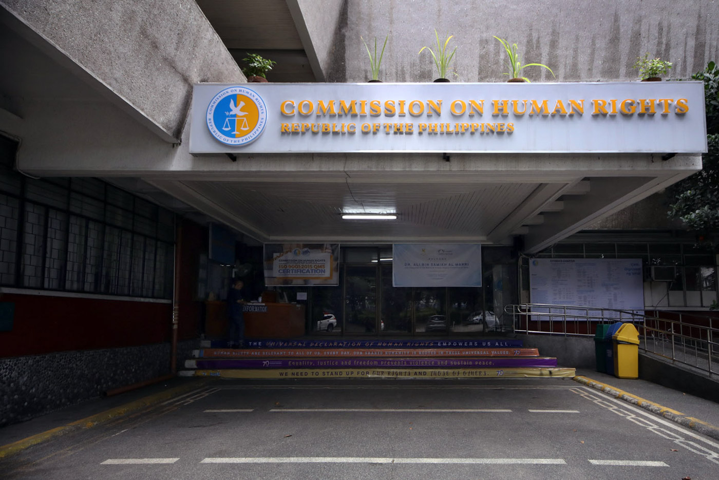 STOP ABUSES. The Commission on Human Rights faces challenges in doing its mandate against state abuses. File photo by Darren Langit/Rappler