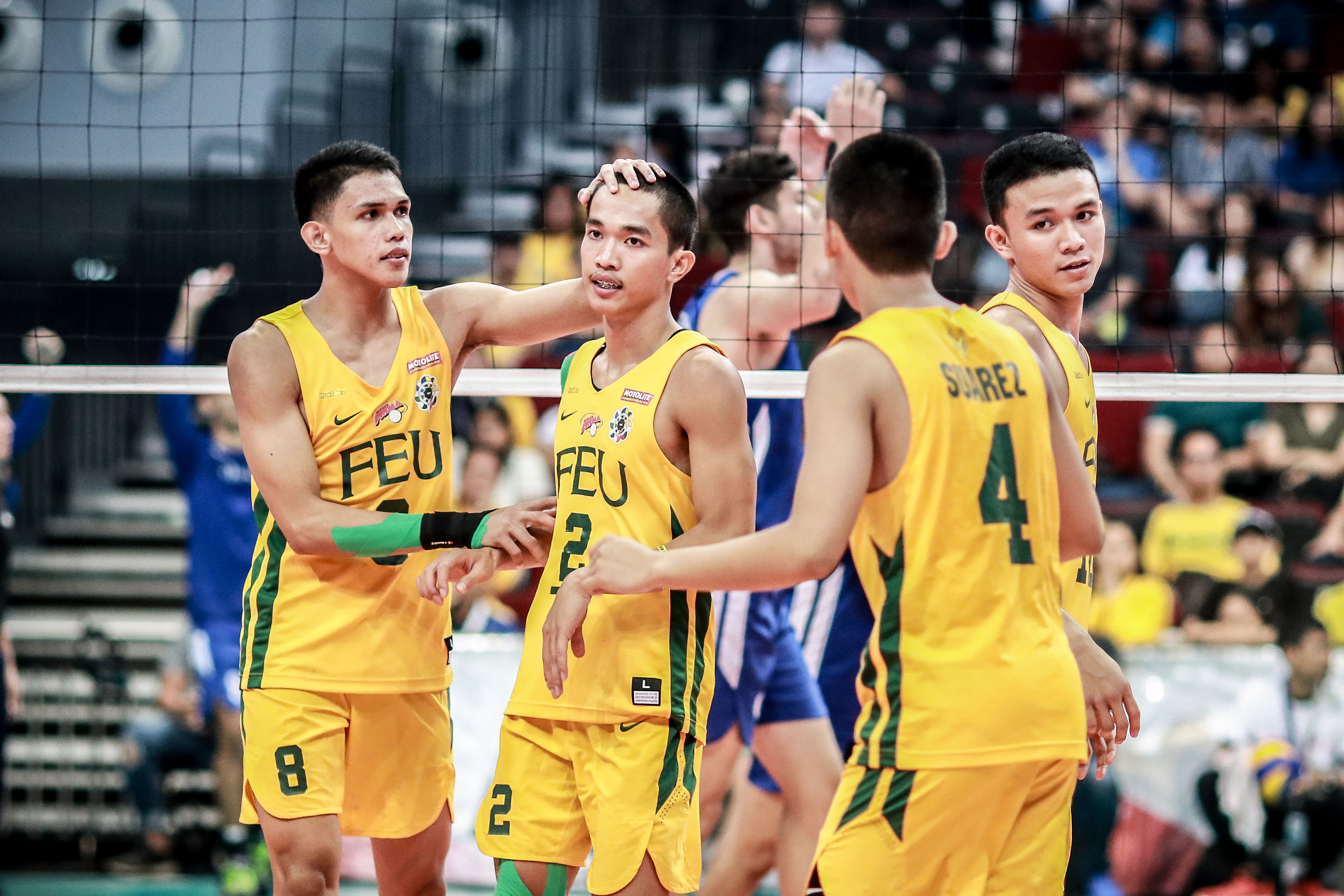 Feu Takes Down Ateneo To Reach Uaap Men S Volleyball Finals