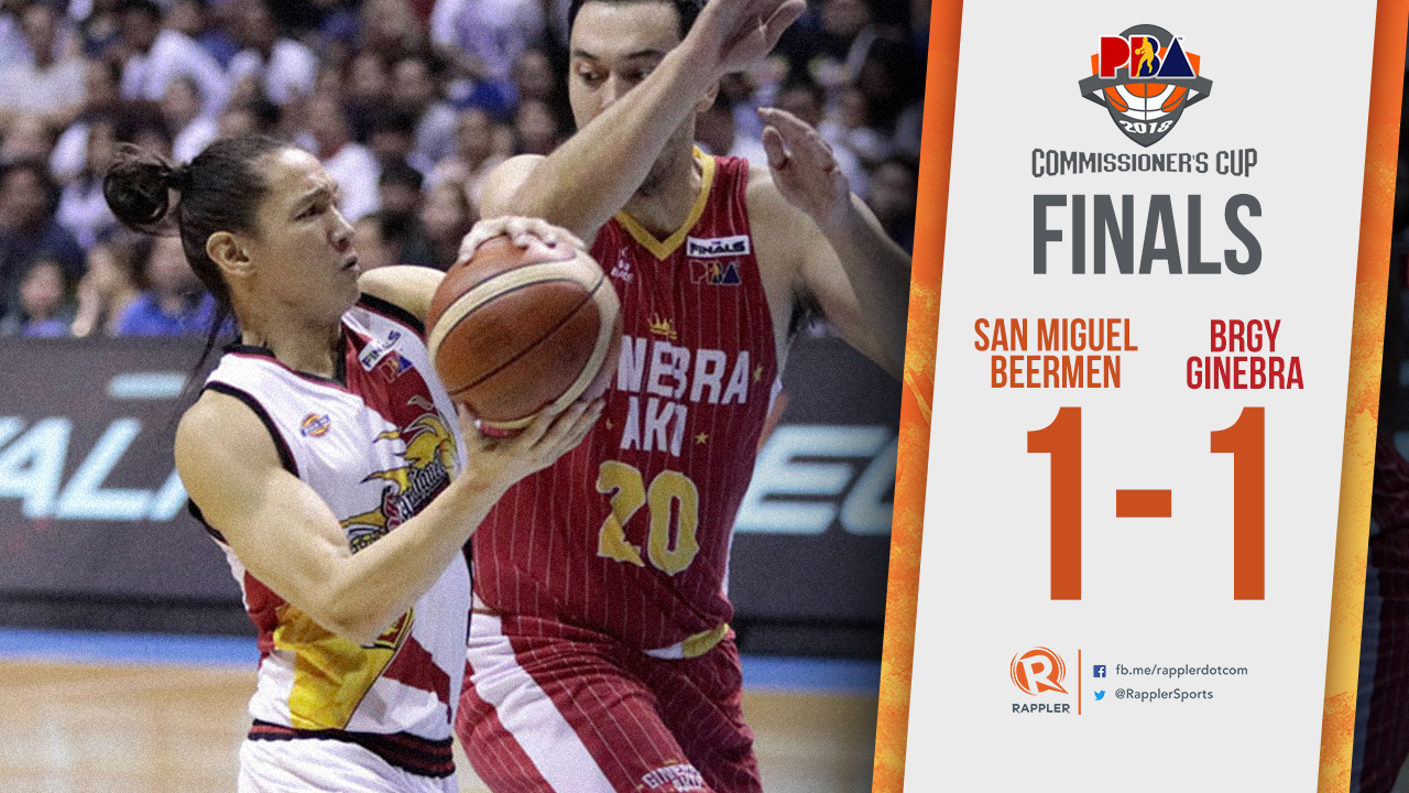San Miguel Rides Cabagnot S Hot Hand To Blast Ginebra In Game 2