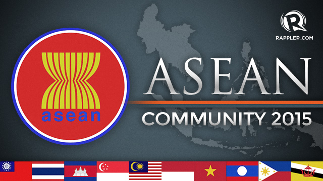 A united region: The ASEAN Community 2015